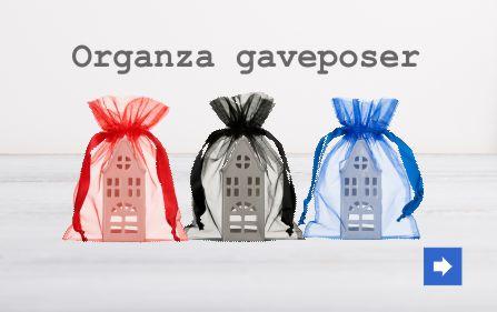 Organza gaveposer