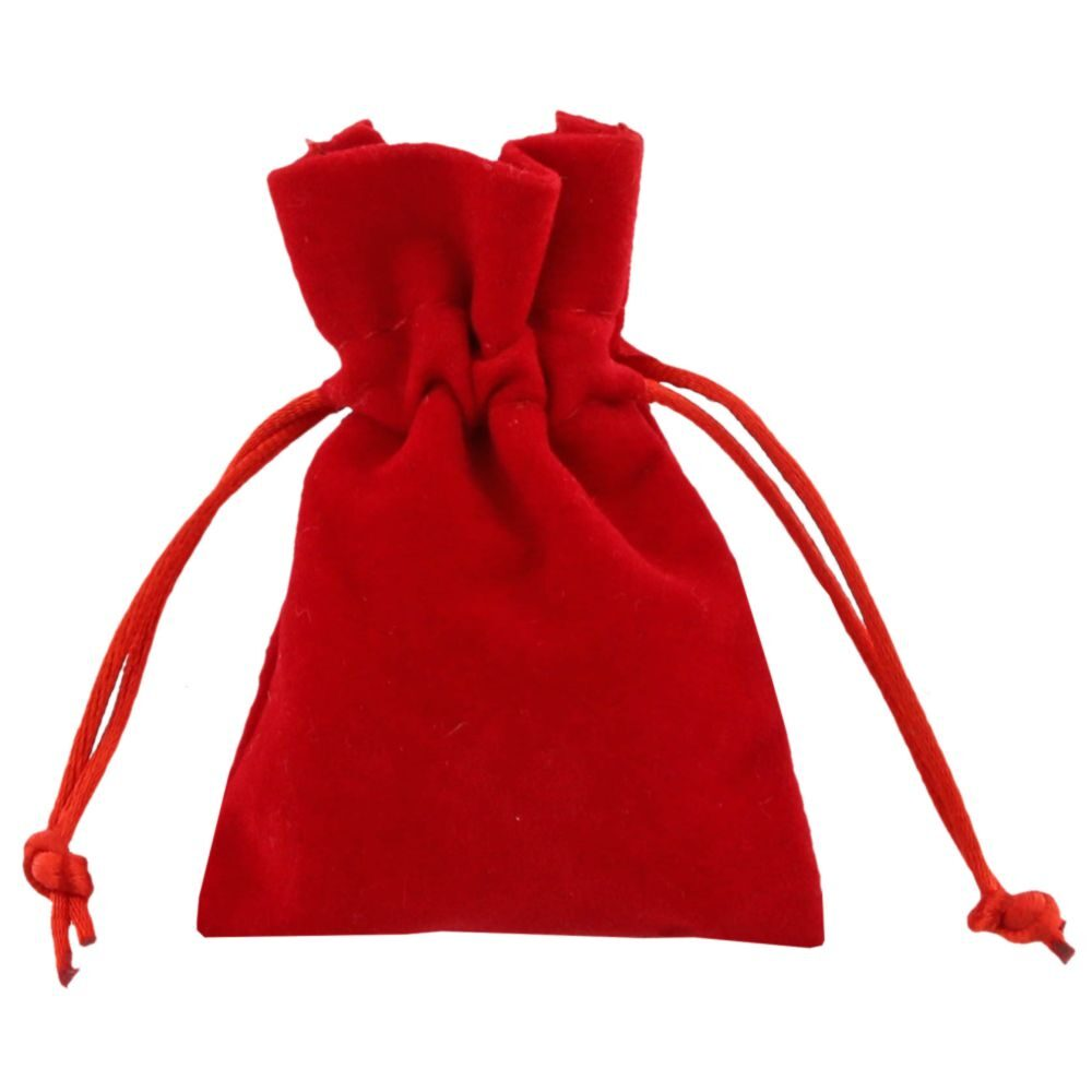 Velour poser 7,5x10cm red