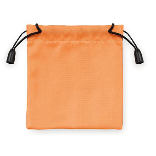 Nylon poser 9,5x10cm appelsin