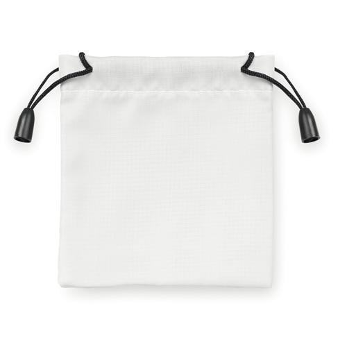 Nylon poser 9,5x10cm hvid