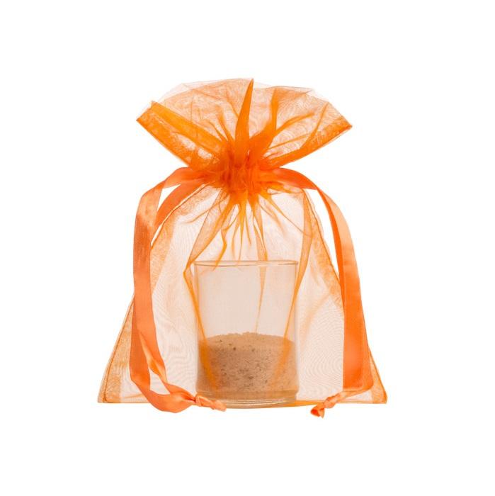 organza bags15x20cm orange