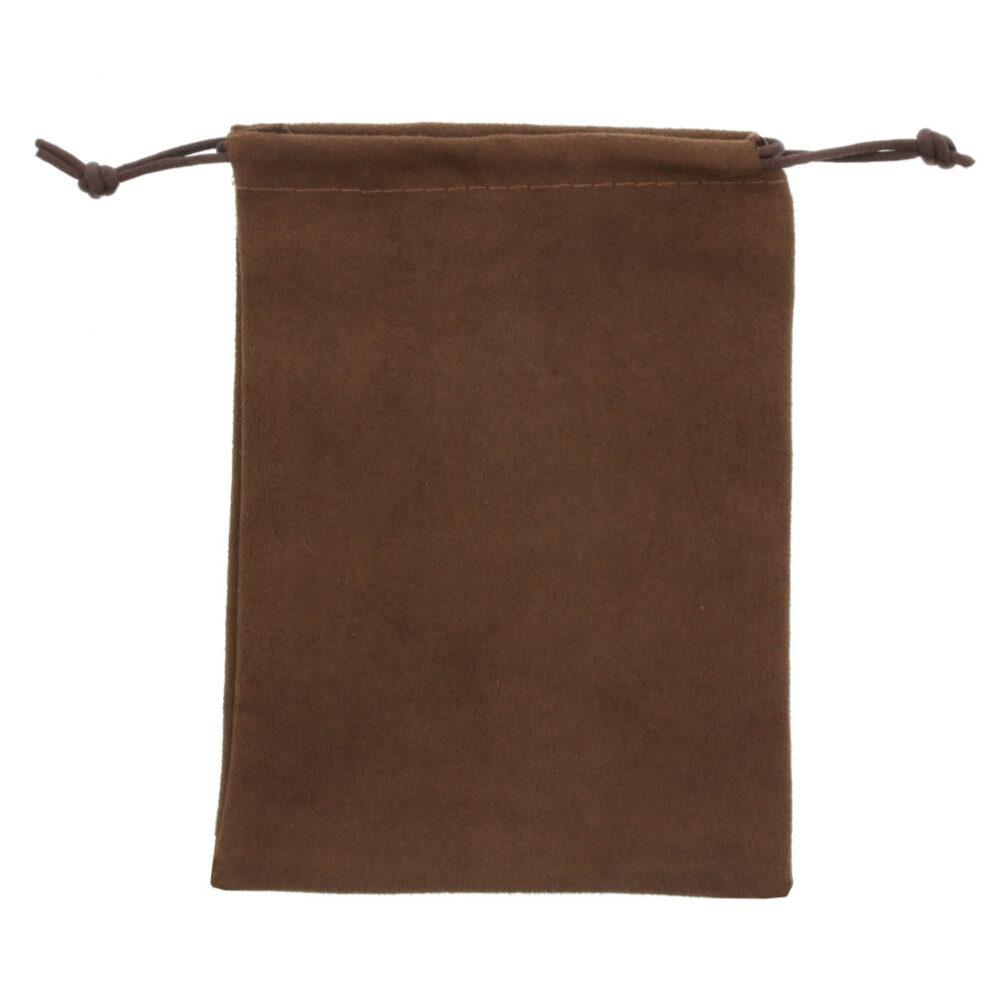 100 stykker Ruskind Poser 12x16cm chokolade brun (3)