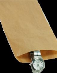 1000 stykker Papierposer Brun et valg af flere størrelser