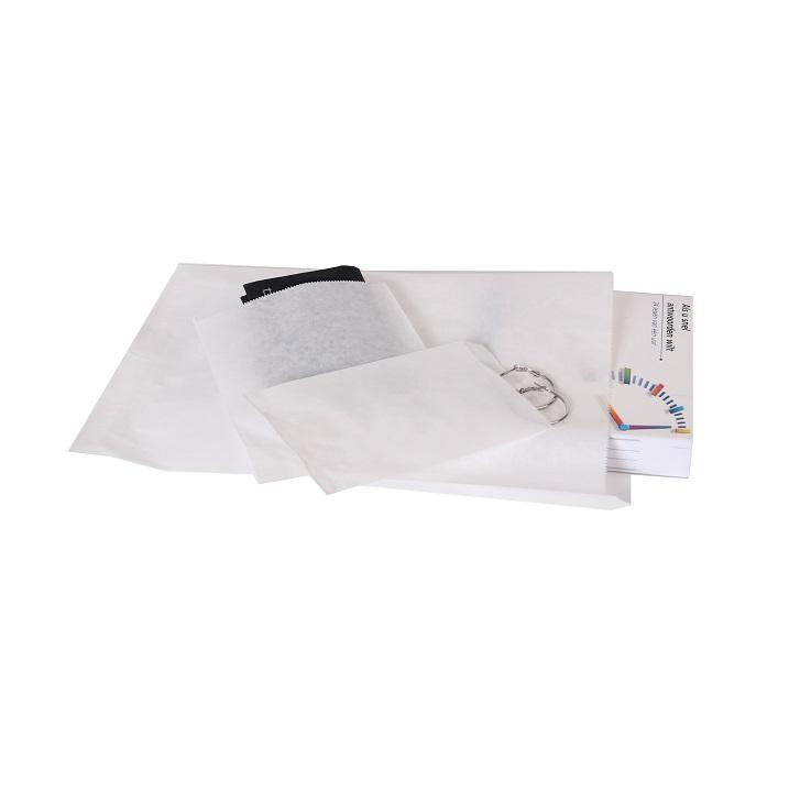 1000 stykker Papierposer Hvid et valg af flere størrelser (2)