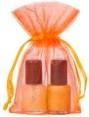extra small organza apelsin 7x12cm