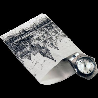 1000 stk Papirposer Nostalgiske Facader